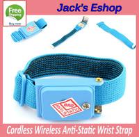 1PC Cordless Wireless Anti-Static Wrist Strap NEW FREE SHIPPING