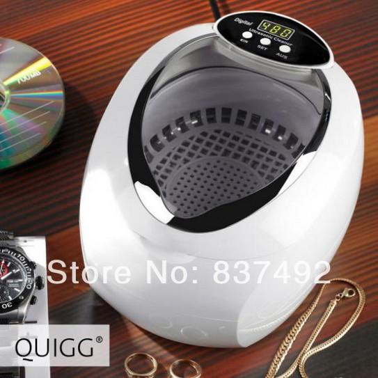 Quigg ultrasonic cleaning machine cleaning machine cleaner jewelry glasses watch cd(China (Mainland))