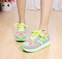 All-match kilen letter n shoes n agam casual sport shoes platform shoes