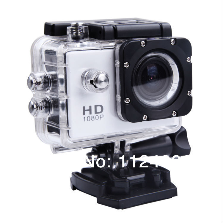 Full HD Waterproof Camera 1080P Sports Helmet Action Mini Video Camera