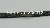 BA-003 black Stainless steel Bracelet mens INLAY ITALY  famous  designer brand bangle chain unisex cool gift