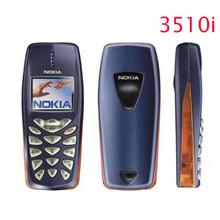 Refurbished Nokia 3510 3510i cheap gift phone 2G GSM Dualband classic Mobile Phone Russian Keyboard Free