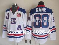 2010 Olympic Team USA #88 Patrick Kane white ice hockey jerseys, please read size chart before order