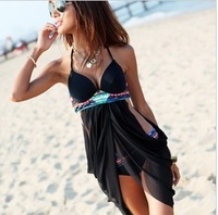 New Arrival Sexy One-Piece Dress Swimwear Summer Fashion Beach Swimsuit Hot Spring Bathing Suits XX-067