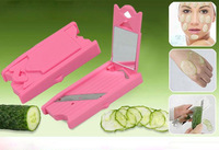 Portable Beauty Chopping Knife Cucumber Potato Face Mask Pack Outdoor Sauna Home