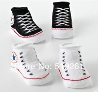 7 colors Suitable for 0-12 months baby's gift Baby Socks Outdoor Shoes sock New born Socks kids stocking