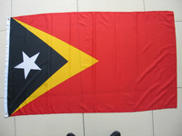 Free shipping One Piece 3ft x 5ft Timor Flag Polyester Timor National Flag in size 90cm x 150cm