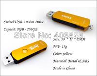 Free Shipping , 16GB USB 3.0 Memory Stick, Cheapest 16GB/32GB/64GB/128GB USB3.0 USB Flash drive High Speed and Original Chips