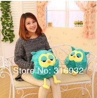 J5  Super cute plush animals hand warmer toy snowy owl stuffed reborn toy toys doll for girls boys 38cm 1pc