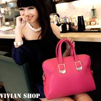 New 2014 Fashion Shoulder Leather Handbags ,Lady Leather Bag Women's Vintage PU leather handbag , Clutch Bag Messenger Bags
