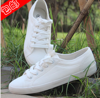 FREE SHIPPING HOT SALE 2014 women's solid color shoes white canvas shoes sneakers for women fashion casual shoes ladies shoes