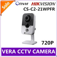 "1/4"" Progressive Scan CMOS HIKVISION IP camera 720P WIFI / CCTV camera CS-C2-21WPFR Build-in Sound & Speaker Free shipping"