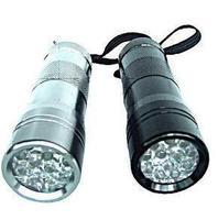 12led 395 - 400 multifunctional flashlight violet uv money detector flashlight
