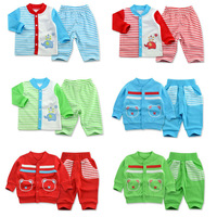 Baby coat sweater suit pants for boys and girls newborn baby clothes children's spring and winter thick cotton dress