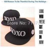 Hot sell !2014 New fashion EXO XOXO leisure baseball caps,fashion hip hop flat along snapback cap/hat free shipping