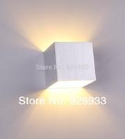 Aluminum Wall LED backlight study modern minimalist bedroom bedside hotel hallway stairs creative corridor lights stn04