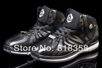 Fast shipping cheap discount 2014 D Rose 4.5 gray shadow basketball shoes black/silver, Wholesale outdoor sport sneakers adults