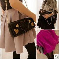 Clothing woolen high waist pleated short skirt princess autumn women's bust skirt free shipping b15
