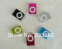 MINI clip MP3 Player with Micro TF/SD card Slot with mini MP3 no earphone no usb (only mp3)