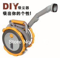 1pc High Power a Vacuum cleaner Portable Wet & Dry two-used Car Dust Collector DC 12 volt  Free Shipping