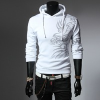 The new 2014 fashionable man joker cotton cardigan coat men's sportswear