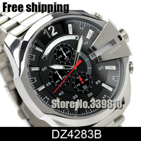 New Arrival Fashion Cool Mens Watch Quartz Watch DZ4283B DZ 4283B wristwatches Men Sports Watches Men Full Steel Watch Free Ship