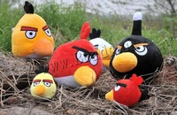 Free shipping!!!Plush Hanging Decoration,Famous Jewelry, with Plastic, Bird, mixed, 90mm, 50PCs/Lot, Sold By Lot
