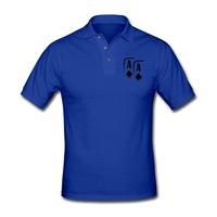 Fashionable Asia Europe Design Summer Boy Shirt Poker Fans Favourite Amazing T-shirt Multi Colors