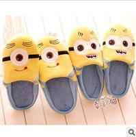 Milk small cotton-padded female slippers plush floor thermal home slippers package with
