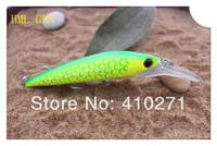 Hidro magnun bait, 2 VMC hooks,14cm,hard plastic fishing lure