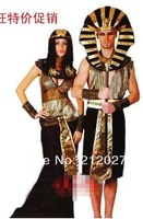 New Arrival Halloween customes fancy dress outfits Cosplay party consumes accessories 5pcs/set Cleopatra Free Shipping