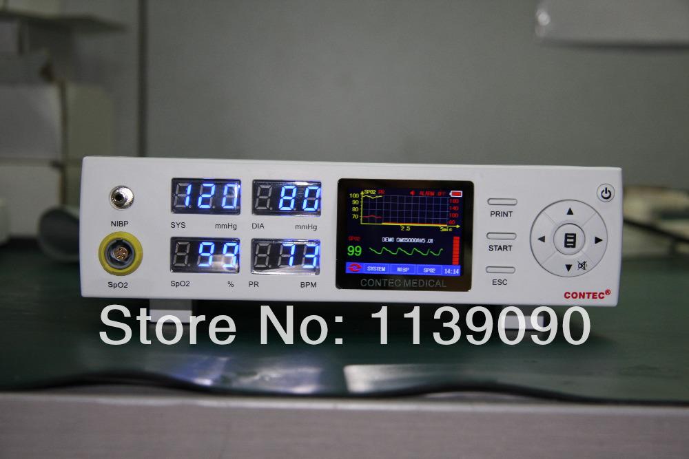 CMS5000B 3-Parameter Pulse Rate, SpO2, NIBP Medical Monitoring Device(China (Mainland))