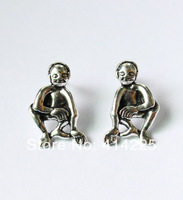 New Arrival Smeagol gollum Lord of the Rings Smeagol Gollum Hobbit post earrings Free Shipping Sale-Seller 1-2