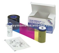 Datacard printer ribbon 534000-004 half panel color ribbon for SD SP series card printer