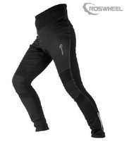ROSWHEEL Outdoor Sports Bike Cycling Bicycle Pants Trousers Tights Fleece Thermal Windproof Mens Casual Shorts Cycle Wear Black