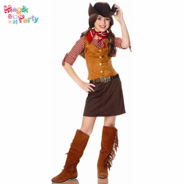 Girl Cowboy Costume Halloween Costumes For Girls