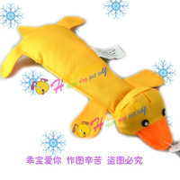 Oxford fabric pudding-pipe duck pet toy dog sound toys odontoprisis toys teddy toy