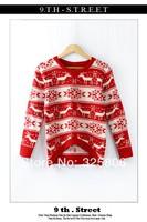 Hot Sell !!! Free Shipping Women Wool Sweet Animal Design Crochet Knit Blouse Long-sleeve Tops Women Sweater Cardigan