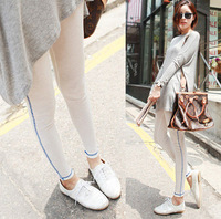 Legging 2013 spring and summer solid color brief basic ankle length trousers fashion pants student i