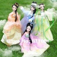 Free shipping  fashion Costume four seasons fairy  dolls fashion  toys for girls   high quality