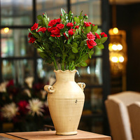 Furnishings 188 rose artificial flower silk flower artificial flower decoration flower dining table French home accessories