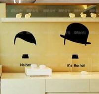 Fashion wall stickers window glass decoration