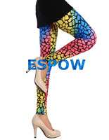 2014 Summer NEW Fashion Colorful gradient leopard printed leggings pantyhose milk silk