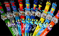Free Shipping ! 20pcs New Unique Cute Boy Shrek 3D Child watches children Cartoon watch Christmas gifts watch