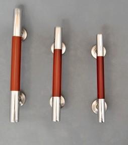 1pcs 300mm Wooden door handle / door handles / stainless steel door handle / door surface mounted handle W15(China (Mainland))