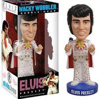 Free Shipping FUNKO Elvis Presley - Aloha Wacky Wobbler Bobble Head PVC Action Figure Toy Retail