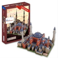 Free Shipping New Arrival 3D Puzzle Model Hagia Sophia Church of the Holy Wisdom Istanbul Turkish Turkey