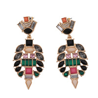 2014 jewelry vintage drop earrings studded bijoux women for spring summer brincos 140303