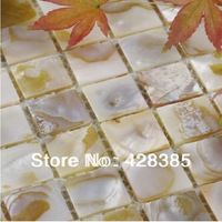 Mother of Pearl tiles Shell Mosaic Tiles, Natural Shell tiles for bathroom wall flooring tiles