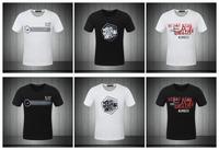 2014 summer EA brand men's short sleeve shirt fashion Round neck t-shirt cotton casual tshirt hiphop tshirt unisex FS062